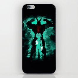 My robot action iPhone Skin