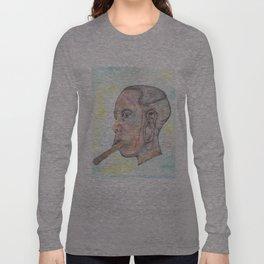 Mursi Woman Long Sleeve T-shirt