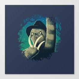 Sloth Freddy Canvas Print
