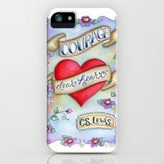 Courage Dear Heart Slim Case iPhone (5, 5s)