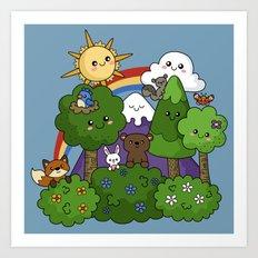 Wilderness Cuteness Art Print