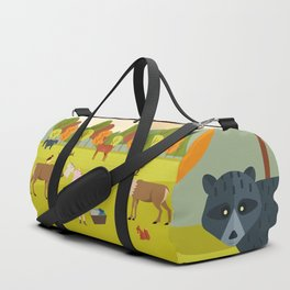 Laundry day with friends Duffle Bag