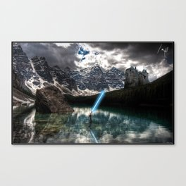 Lady of the Lake (Lightsaber Version) Canvas Print