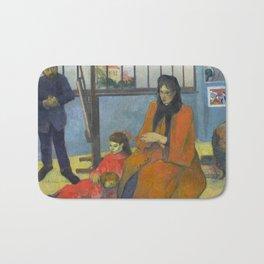 Schuffenecker Family by Paul Gauguin Bath Mat