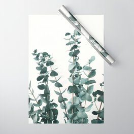 Eucalyptus Leaves Wrapping Paper