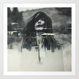 Depths Art Print