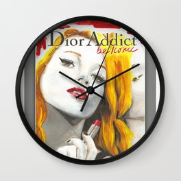 Be Iconic Wall Clock