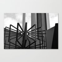 metal Canvas Prints featuring Metal by ephemerality