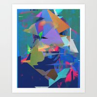 tchmo Art Prints featuring Untitled 20150723u by tchmo