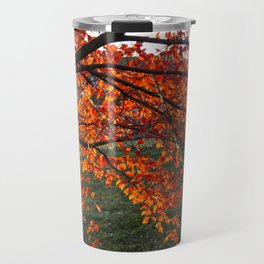 Red Maple Travel Mug