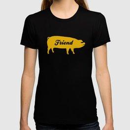 Pig Friend (yellow) T-shirt