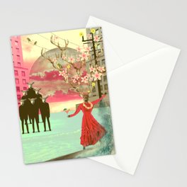 Don't go with the flock Stationery Cards