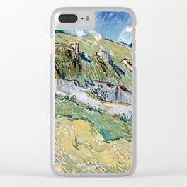 Vincent van Gogh Cottages Clear iPhone Case