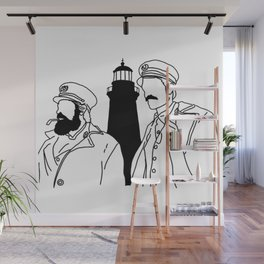 The Lighthouse Wall Mural