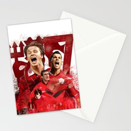 Man United Number 7 Stationery Cards