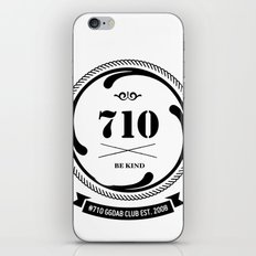 the 710  iPhone & iPod Skin