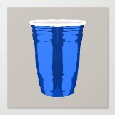 CLARITY CUP BLUE (BIG) Canvas Print