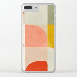 Shapes abstract II Clear iPhone Case