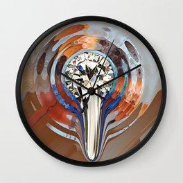 Flüssiger Diamant Wall Clock