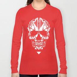 MUSICAL SKULL Long Sleeve T-shirt