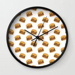 Burgers Wall Clock