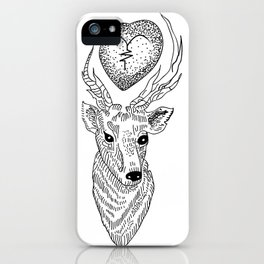 Louis Tomlinson tattoo iPhone Case