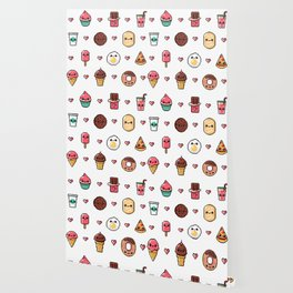 Pixel Food Wallpaper