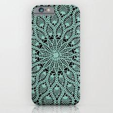 Delicate Teal Slim Case iPhone 6s