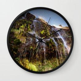 Soda Springs Wall Clock