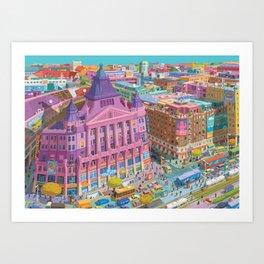 Anker Palace, Budapest Art Print