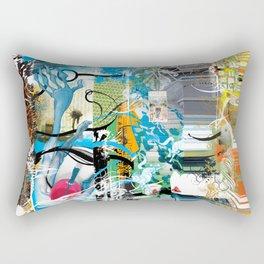 Exquisite Corpse: Round 2 Rectangular Pillow
