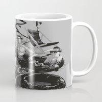 swim Mugs featuring SWIM by SPYKEEE