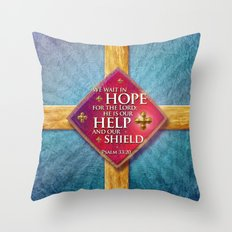 Our Shield Throw Pillow