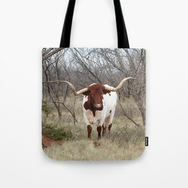 Longhorn Cattle Tote Bag