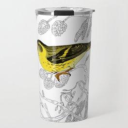 Technicolour Siskin Travel Mug
