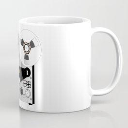Black and White Recorder Coffee Mug