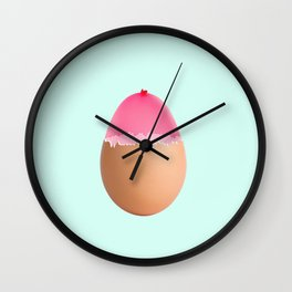 Balloon egg Wall Clock