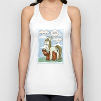 legolas Tank Tops featuring Legolas and Gimli ponies MLP Lord of the Rings Crossover Parody  by BlacksSideshow