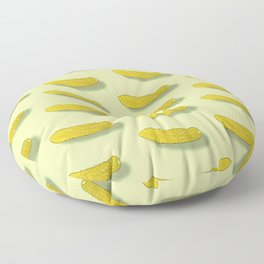 pickled cucumbers Floor Pillow