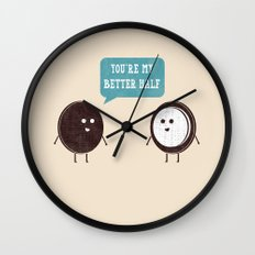 Better Half Wall Clock