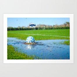 Soccer Ball 3 Art Print