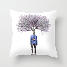 Treenager Throw Pillow