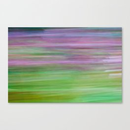 A commotion of motion Canvas Print