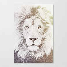 The Intellectual Lion Canvas Print