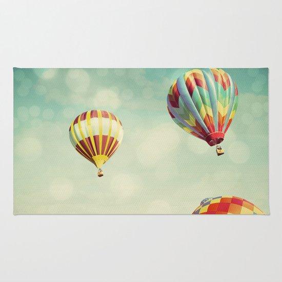 Perfect Dream - Hot Air Balloons Rug