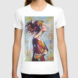 Lena- beautiful woman T-shirt