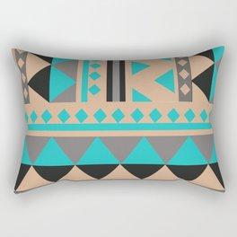 Aztec Pattern No. 28 Rectangular Pillow