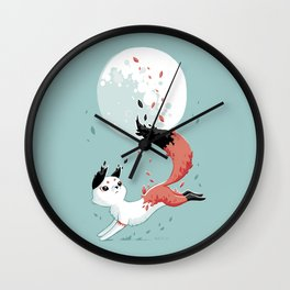 Shedding Wall Clock