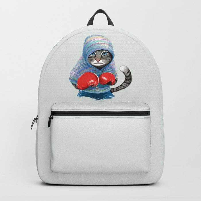 Boxing Cat Backpack