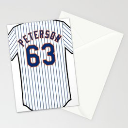 Tim Peterson Jersey Stationery Cards